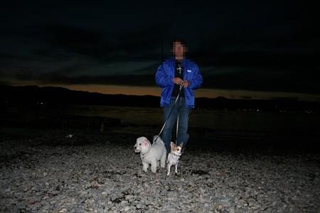 夕暮れの諏訪湖2