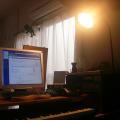 写真: 模様替え「テーブルランプ兼間接照明」1