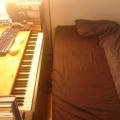 写真: 模様替え「ベッド兼椅子」