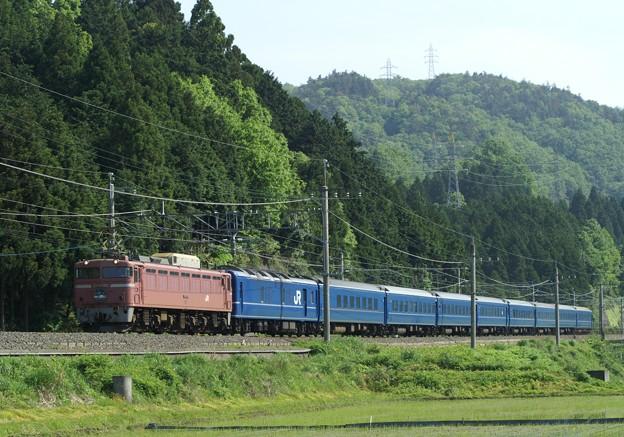 Photos: EF81 102 日本海4号