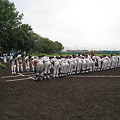 写真: 卒業大会3回戦