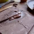 写真: 修正用の粘土