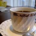 写真: サイフォン抽出のコーヒー