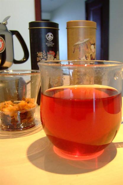 写真: 水果茶