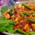 写真: 野菜のスパイシーミックス