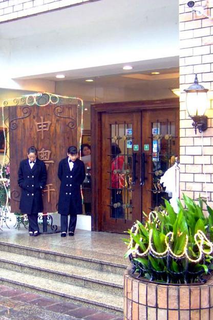 写真: 入り口の様子