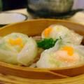 写真: 蟹子芥末餃