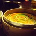 写真: 野菜リボン