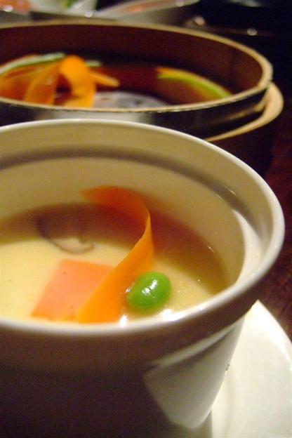 写真: 茶碗蒸し