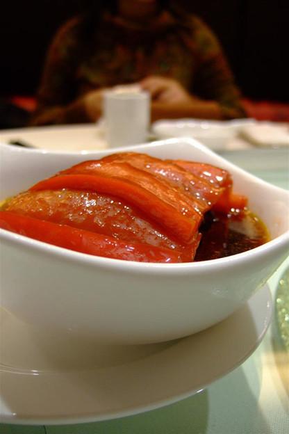 写真: 皮蛋の冷菜