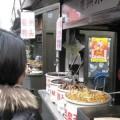 写真: 小吃街