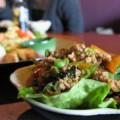 写真: ピリ辛の肉味噌はごはんの友