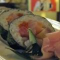 写真: じょっぱり寿司(太巻き)