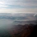 写真: クチャからウルムチへのフライト