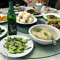 写真: このツアーでの最後の食事