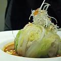 写真: 白菜と豚しゃぶのゴマだれサラダ 35RMB