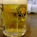写真: 薄いビール
