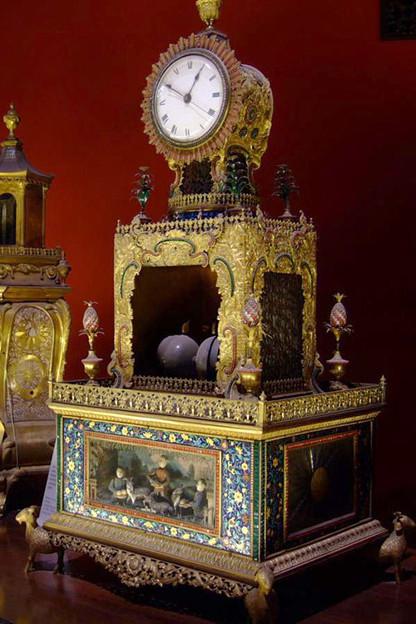 写真: 故宮内の時計館