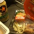 Photos: セイコーマートの弁当と鯖と...