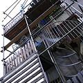Photos: 骨組段柱