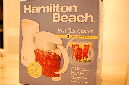 Hamilton Beach アイスティーメーカー