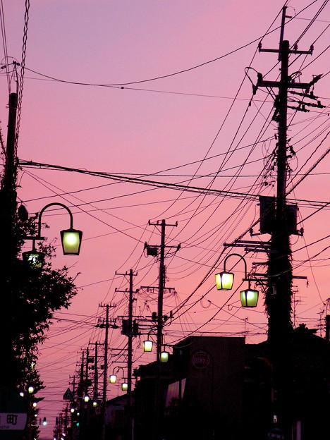 Photos: ○○市3丁目の夕日