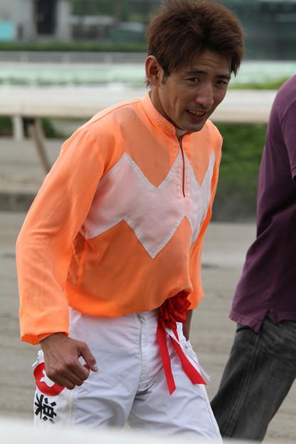 木村 健 騎手(第12回 兵庫ダービー)