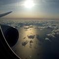 写真: 海と空と