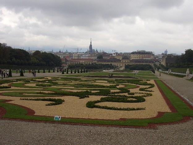 ベルヴェデーレ宮殿 庭園 CIMG0165