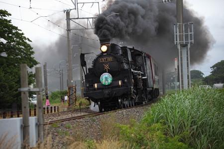C57-180快速「SL山形DC架け橋号」5
