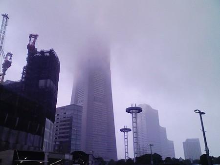 080826-今日も雨のランドマークタワー