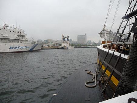090507-観光丸 入港 (2)