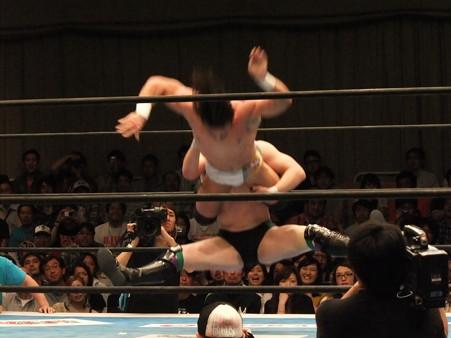 新日本プロレス BEST OF THE SUPER Jr.XIX 準決勝戦 Aブロック1位 PAC vs Bブロック2位 田口隆祐 (9)