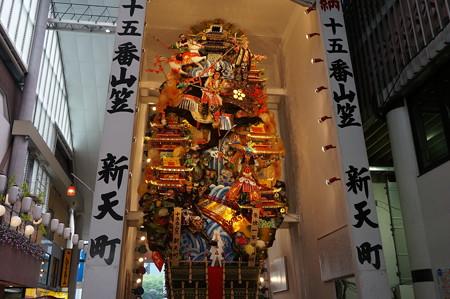 15 2014年 博多祇園山笠 飾り山笠 朱槍一竿傾而候 新天町 (3)