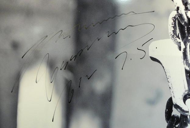 HEAT_リダ_タワレコ渋谷のサイン