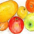 ヤカモチの果物
