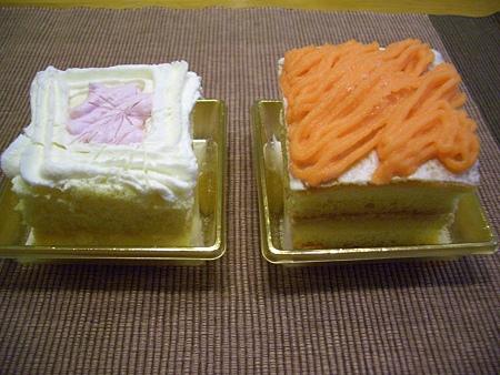 クリスマス2008 (ワンコのケーキ料理)