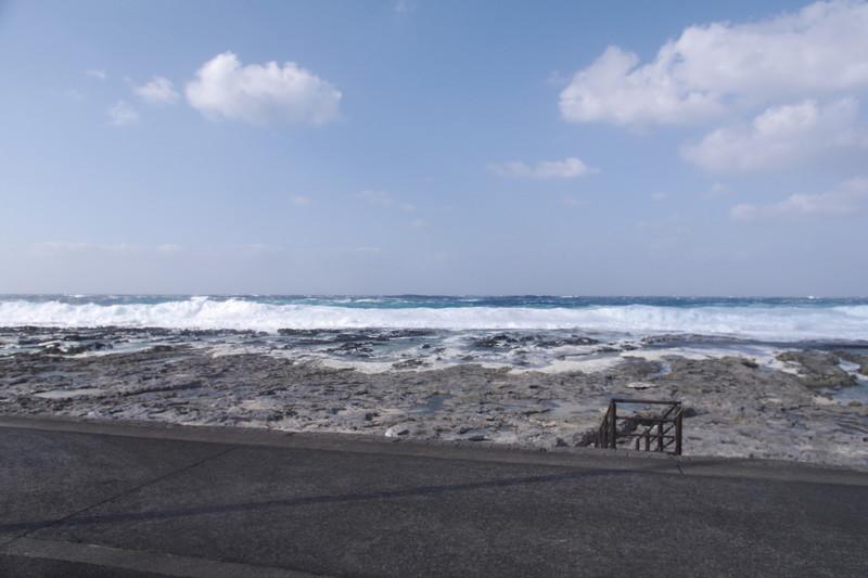 波が高く・・・