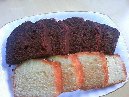 足立音衛門 和三盆パウンドケーキ&生チョコケーキ(2)