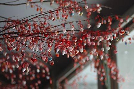 2009.02.21 南足柄市郷土資料館 森のひなまつり 吊るし雛 竹飾り