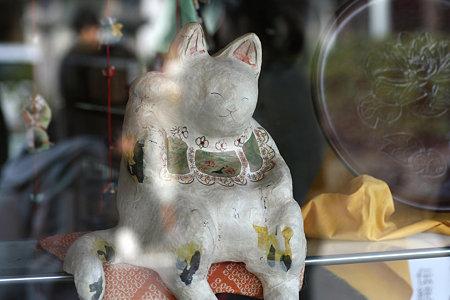 2009.03.21 鎌倉 若宮大路 招き猫