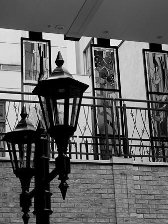 街灯と・・