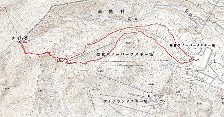 20080114大日岳山スキー