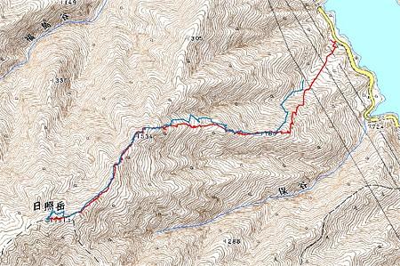 20080211日照岳山スキー