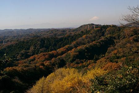 天園から富士山1203s