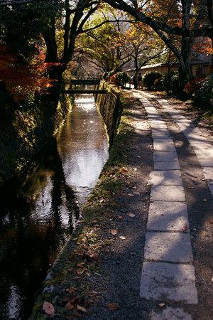 哲学の小道、石畳を歩き晩秋の物思う!