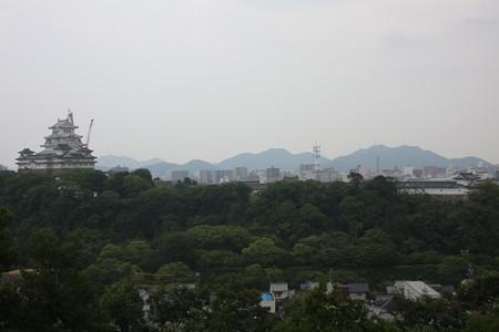 男山配水池公園から姫路城 - 02