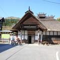 写真: 140507-2東北ツーリング・湯野上温泉駅
