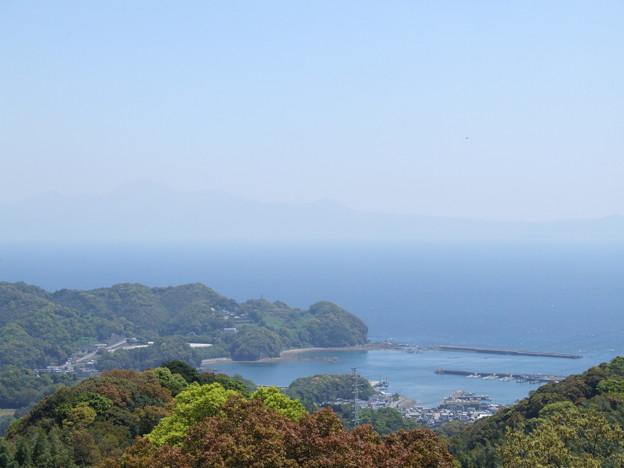 雲仙岳も見えます