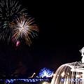 写真: お正月の花火